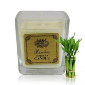 """Sojavahast naturaalne lõhnaküünal """"Bambus"""""""