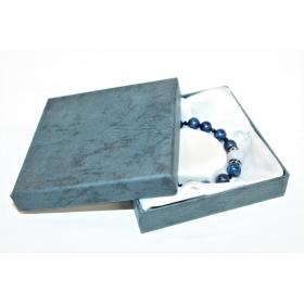 """Kinkekarp """"Sinine"""" käevõrule/kaelakeele 9*9*2cm"""