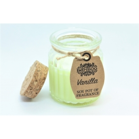 Sojavahast naturaalne lõhnaküünal Vanilje