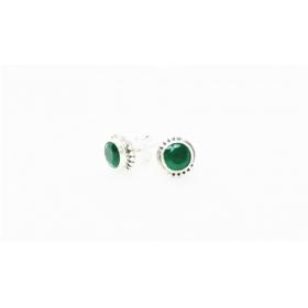 Smaragd kõrvarõngad väike 925; 1,0g