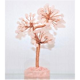 Roosa Kvarts kristallipuu (hetkel otsas)