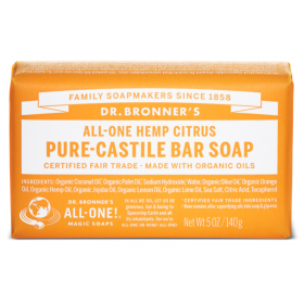 Citrus Orange Pure Castile Organic Bar Soap – tsitrus-apelsin