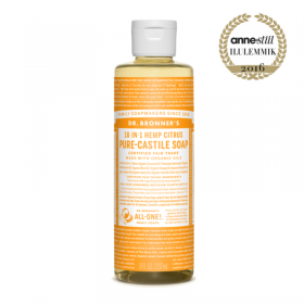 Citrus Orange Pure Castile Organic Soap, tsitrus-apelsin