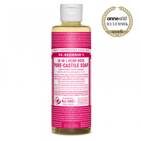 Rose Pure Castile Organic Soap, roos