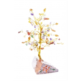 Erikividega Kristallipuu 160 kristalli