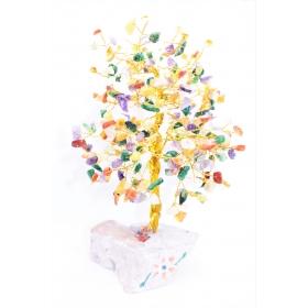 Erikividega Kristallipuu 320 kristalli