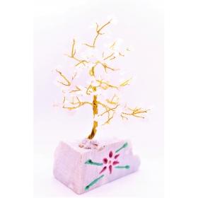 Roosa Kvarts kristallipuu 80 kristalli