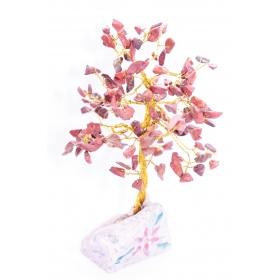 Punane Jaspis Kristallipuu 160 kristalli